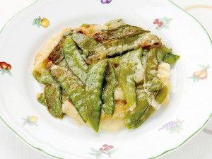 キヌサヤエンドウとポテトのフリコ - 静岡のとっておきレシピ | 静岡おいしいナビ!