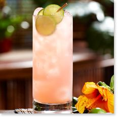 Hibiscus Key Lime Cocktail from our friends at @Tommy Bahama