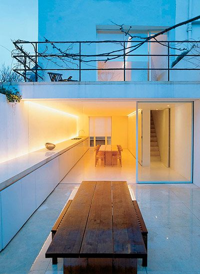 I want my own home to have this ambiance John Pawson Design: Pawson House, London, 1994, by John Pawson #architecture #homespace