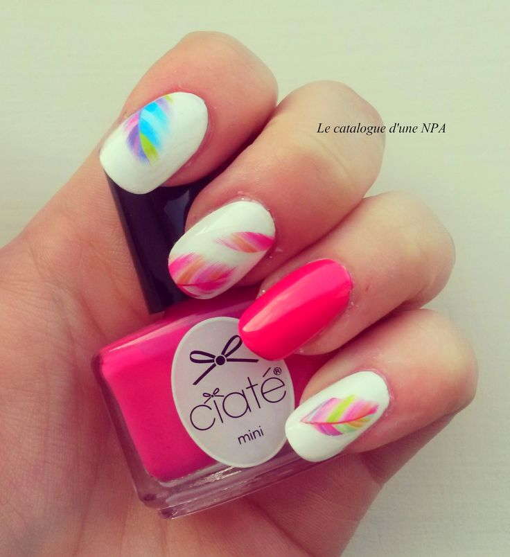 #nailart #npa #nailartist #rose #pink #notd #plume