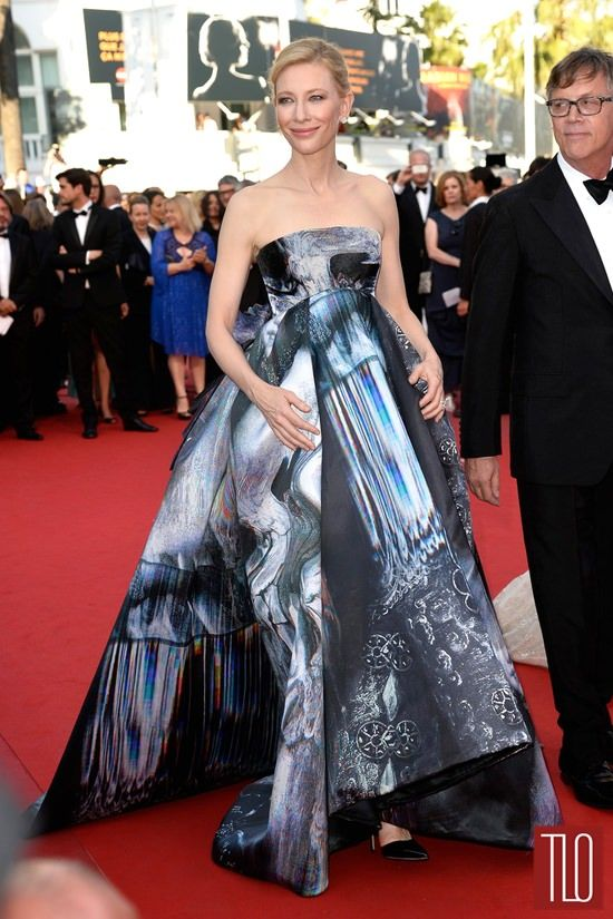 cate blanchett wearing mcqueen Cannes Film Festival - this would make a gorgeous wedding gown for a daring bride!