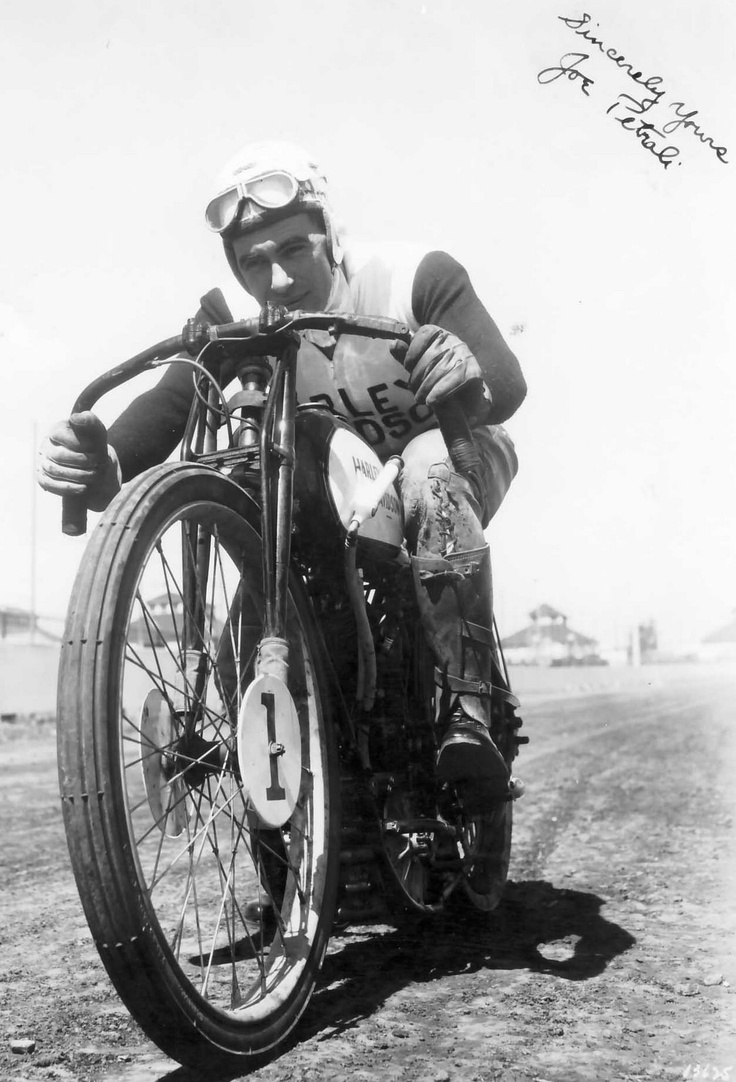 1932 in dirt track racing harley davidson racer joe petrali begins a five year consecutive streak of winning the ama grand national championship