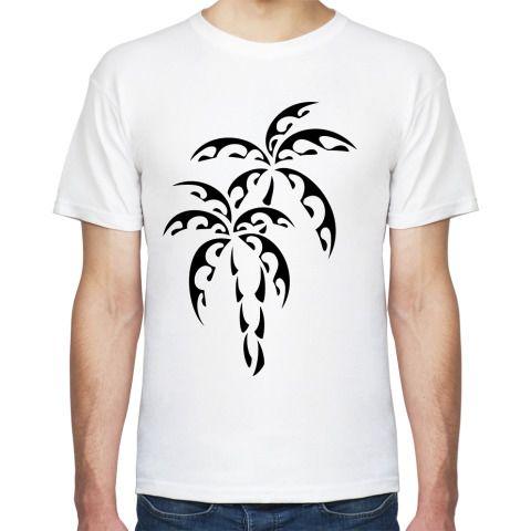 Футболка Пальмы - Простые картинки