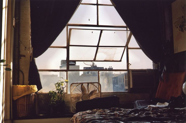 This is where the magic is. Photo by Drew Wood entitled ''Brooklyn loft apartment bedroom''