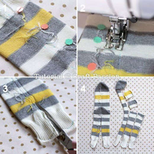 Sewing your own monkey from a sock is as easy as a pie with this great step by step tutorial. Continue reading