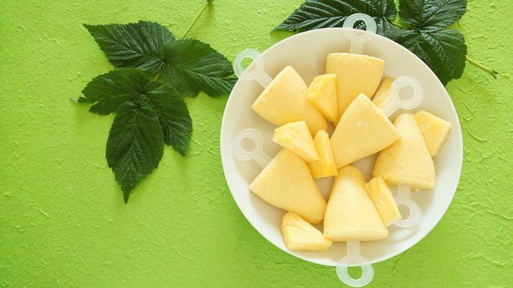 Ananas-kokosijsje