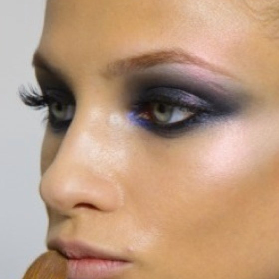 Kiss And Makeup Richmond Va: Great Shading In Blues And Purples. Don't Be Afraid To