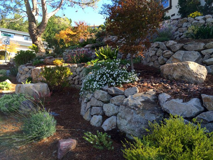 Landscaping Stones Windsor : Best images about hillsides retaining walls on