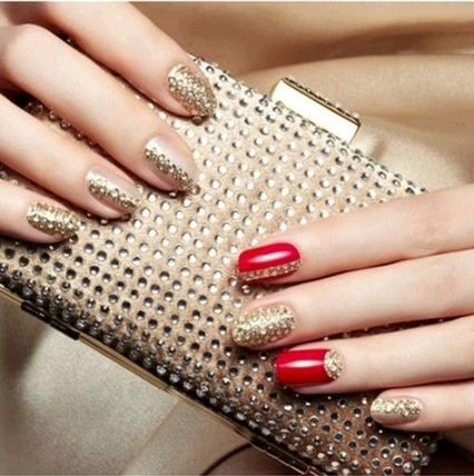Nails Art Red Korean 44 Super Ideas