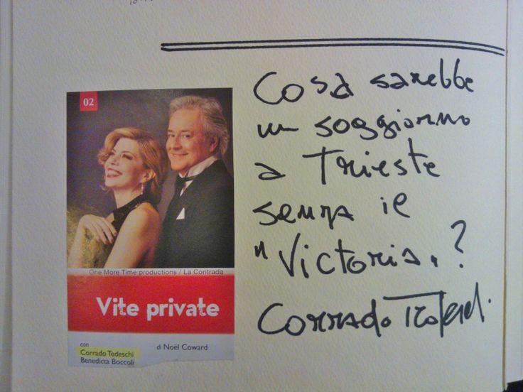 Corrado Tedeschi & Hotel Victoria #Trieste