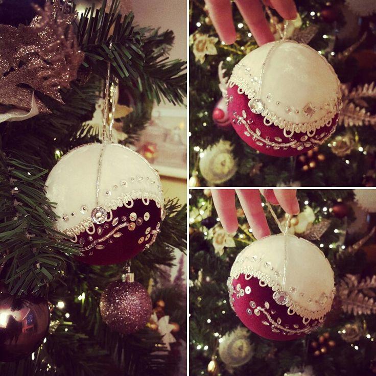 Velvet Christmas Ornament ... by Mella Deco
