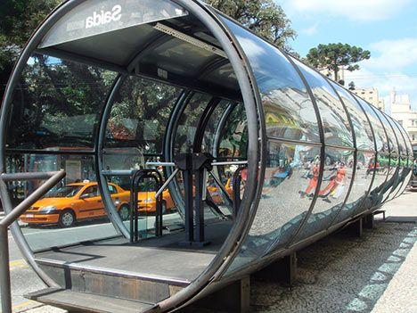 Curitiba's Bus Rapid Transit: 2.3 Million Passengers a Day : TreeHugger