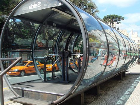 Curitiba's Bus Rapid Transit: 2.3 Million Passengers a Day : TreeHugger