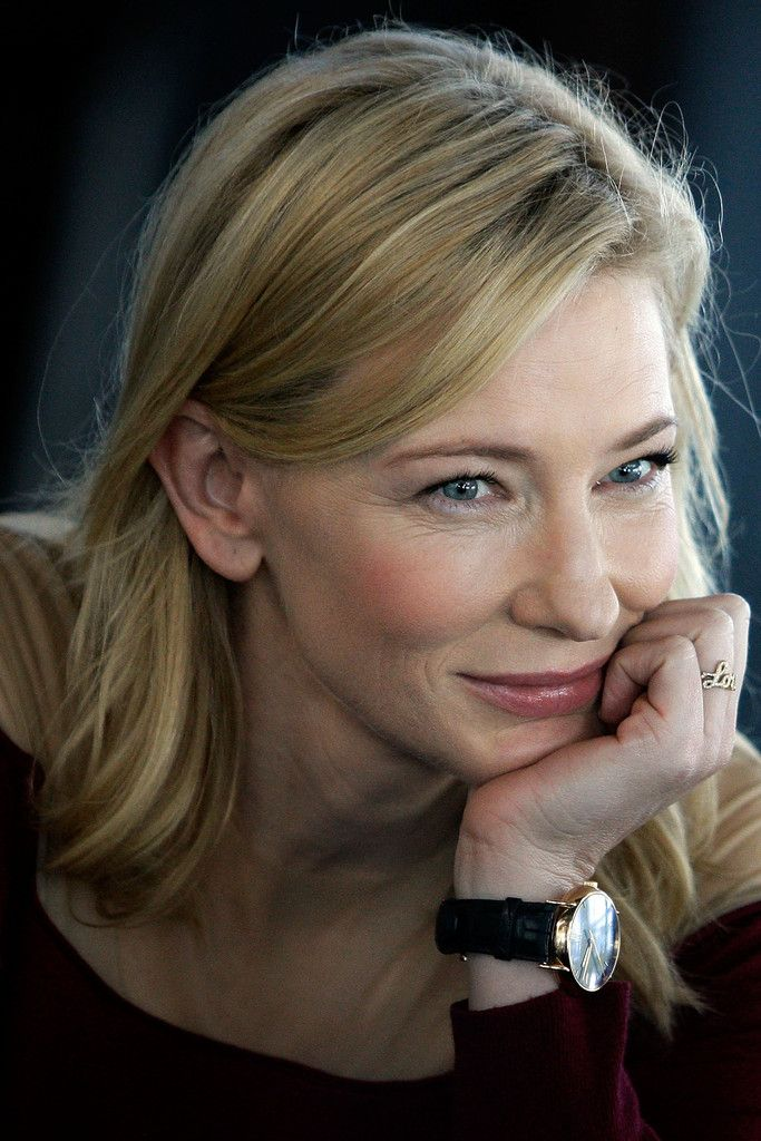 cate blanchett, i find her little wrinkles so incredibly beautiful. reminds me of my mother. i hope i age just as beautifully.