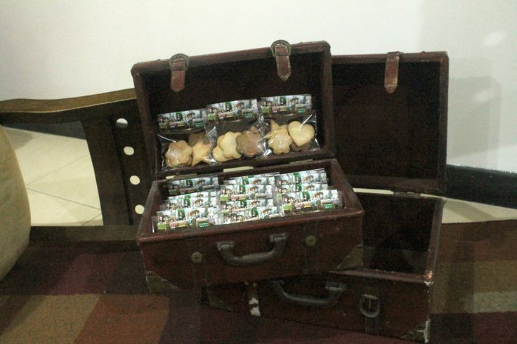 Baúl con galletas