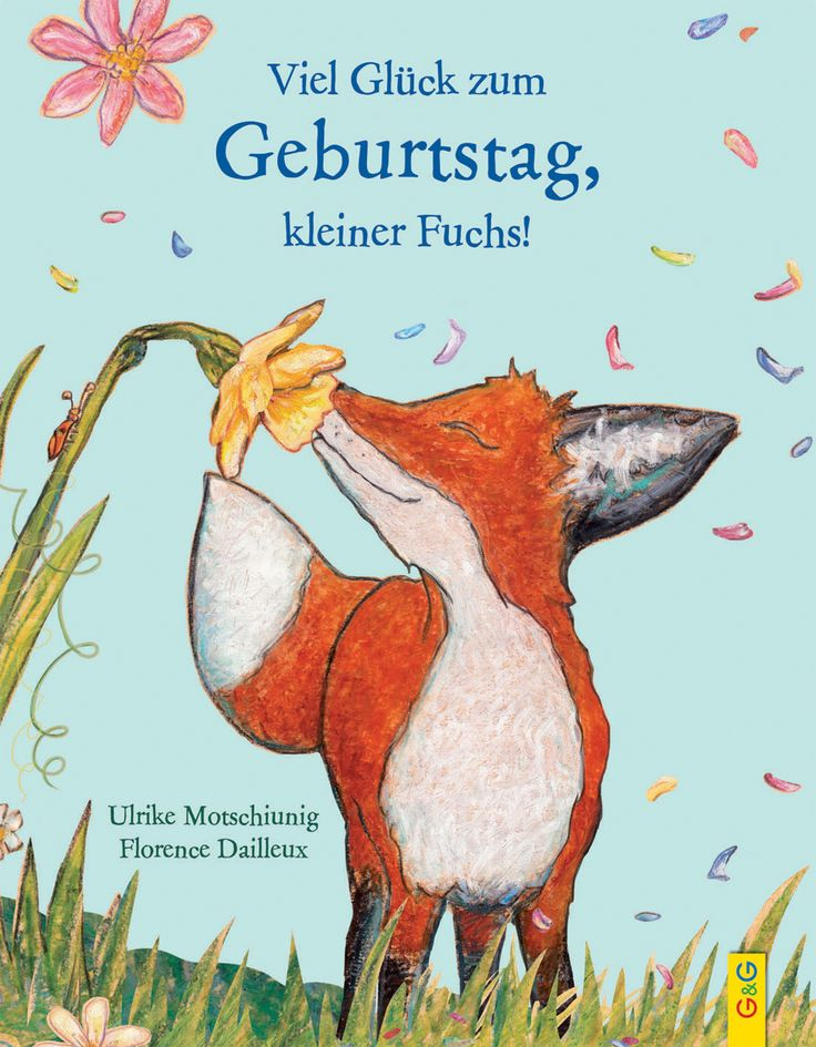 Boa sorte para o seu aniversário, raposa   – fuchsgeburtstag