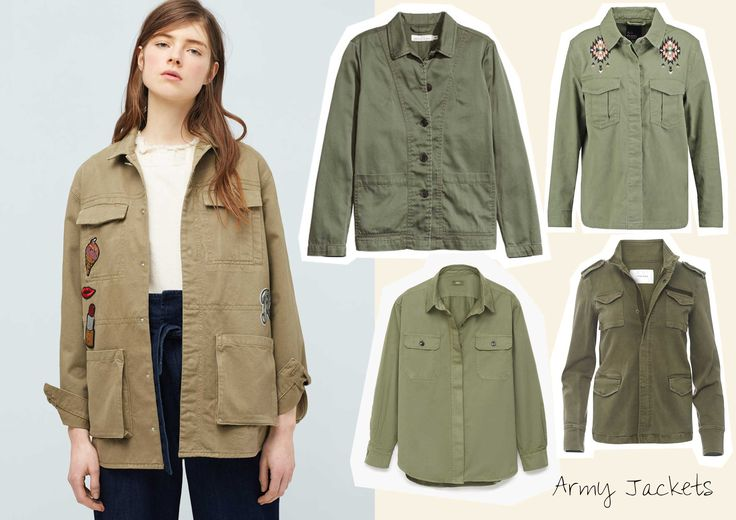 Shop the Trend: Army Jackets