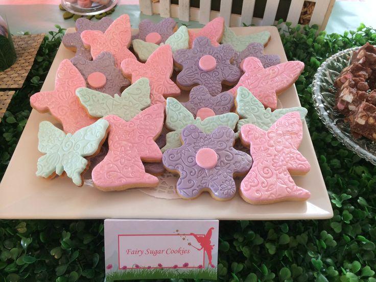 Fairy Party sugar cookies