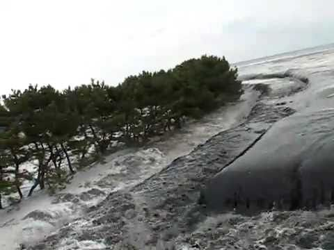 ▶ Incredible footage of Incoming Tsunami Japan. - YouTube