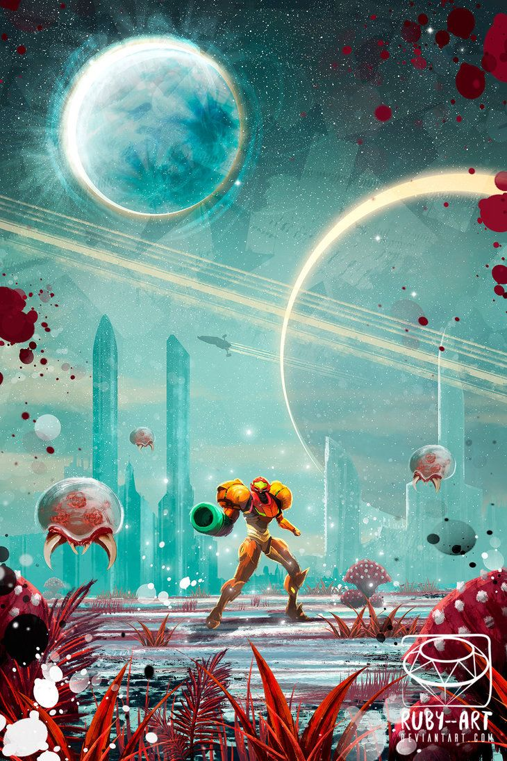 Metroid fanart full view by Ruby--Art on DeviantArt