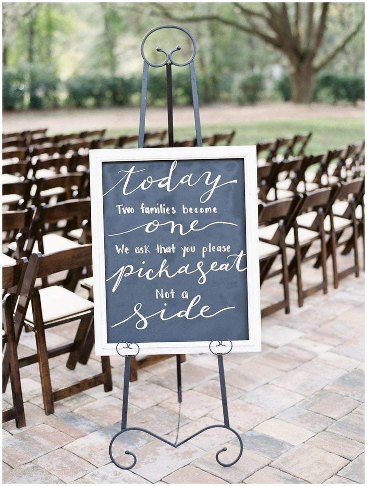 Ceremony decor ideas. Outdoor wedding ceremony. St