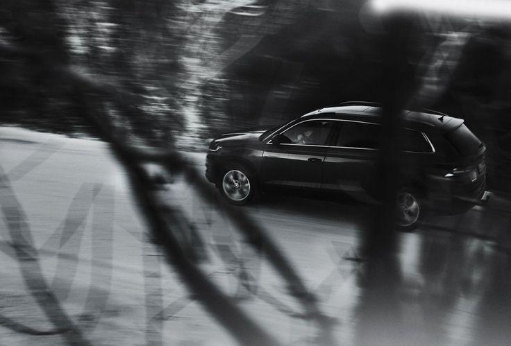 Škoda Kodiaq by Agnieszka Doroszewicz #skoda #kodiaq #car #snow #transportation #photography