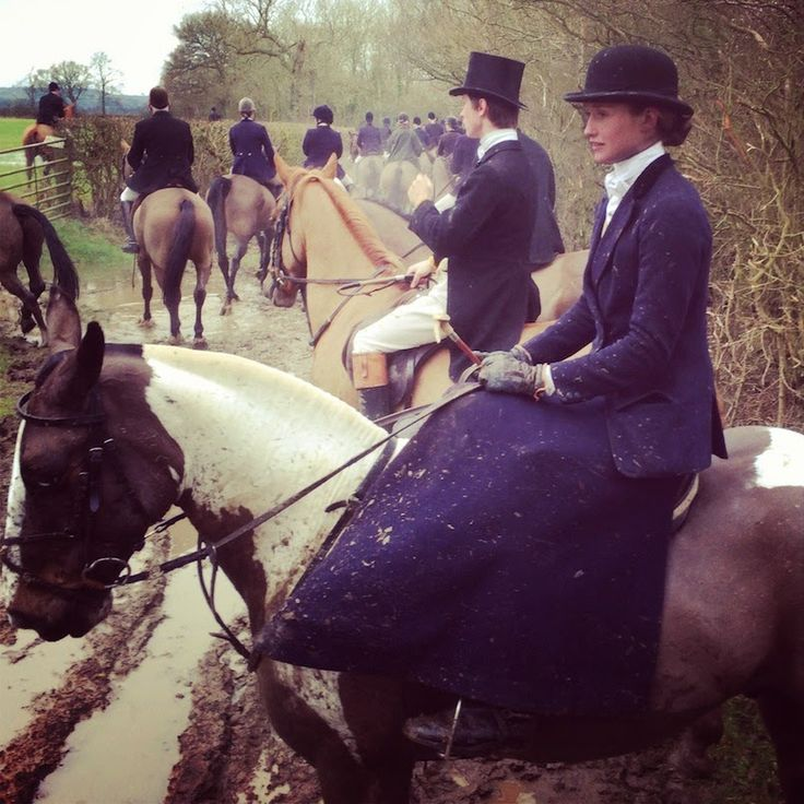 Beautiful girl in the bowler hat, riding side saddle-too gorgeous to be true! I Love Your Style