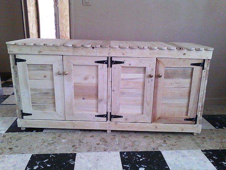 #Cabinet, #Kitchen, #ReclaimedPallet