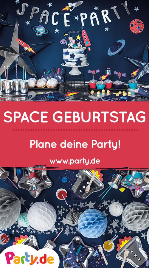 Abgespaced – Space & Space Party Decoration!