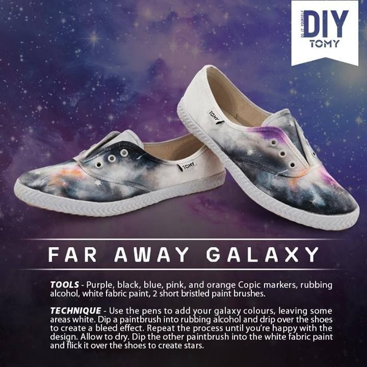 These fan-made DIY Tomy Takkies take footwear to the final frontier. We're digging them and here's how YOU can make your own pair...