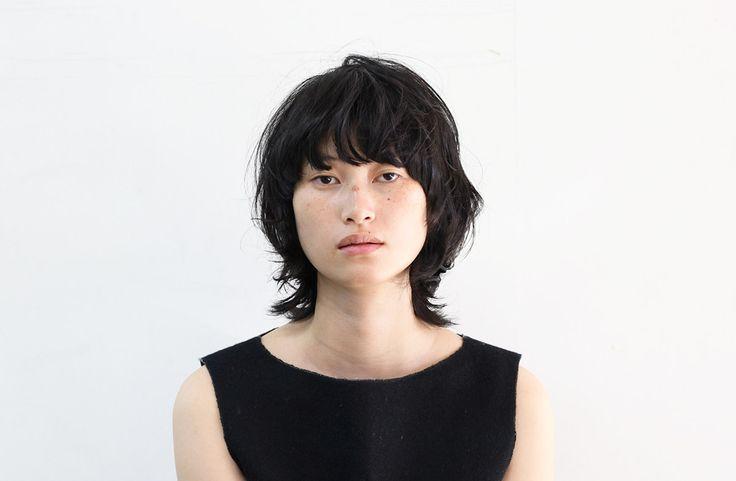 黒髪マッシュウルフ|北條悦子|2015.11|Dot+LIM