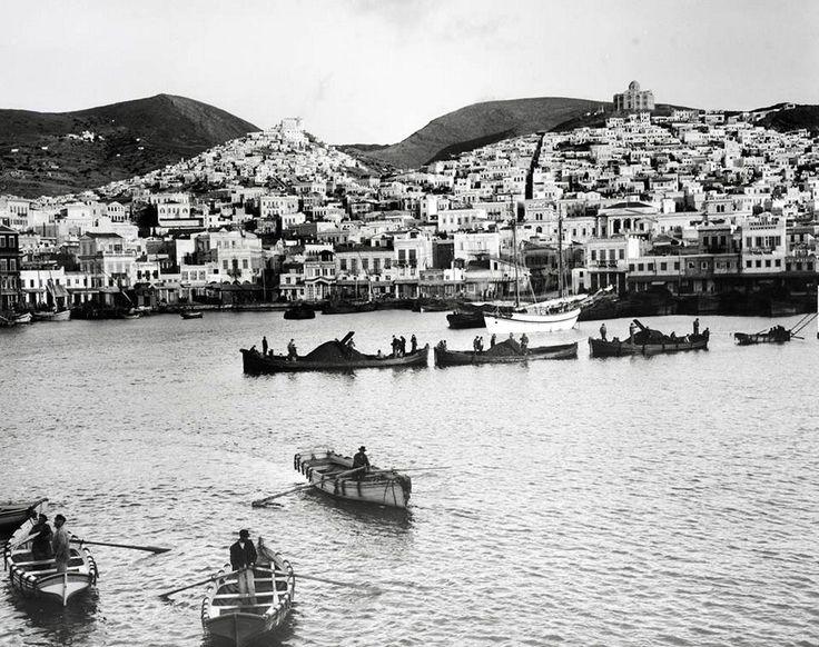 Σύρος, Ερμούπολη, πρώτη εικοσαετία του 1900