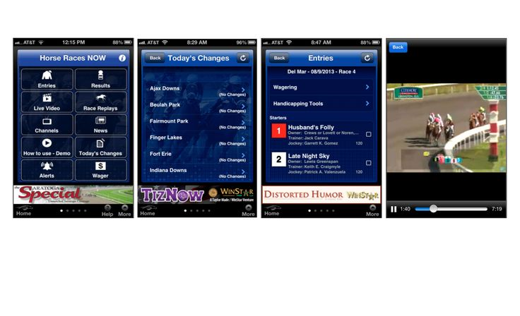 #TheCoolestHorseRacingAppEVER! Experience the excitement of live horse racing and race replays on your iPhone, iPad or iPod touch device, wherever you are. Never miss a race again – it's like having a racing program in the palm of your hand! … Continue reading →