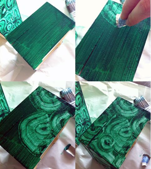 imitation malachite