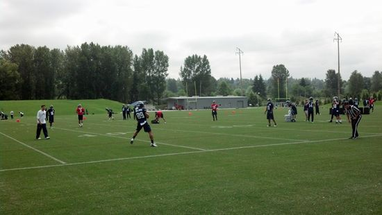 The #Seahawks kickoff organized team activities