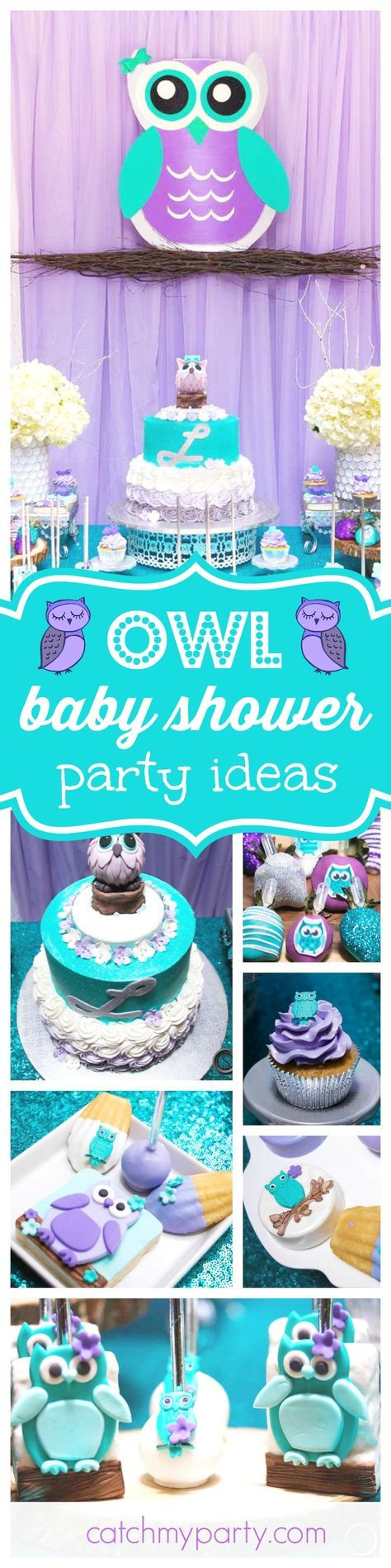 Don't miss this fantastic Whoooos Whoooo Owl themed Baby Shower! The cake is great!! See more party ideas and share yours at CatchMyParty.com