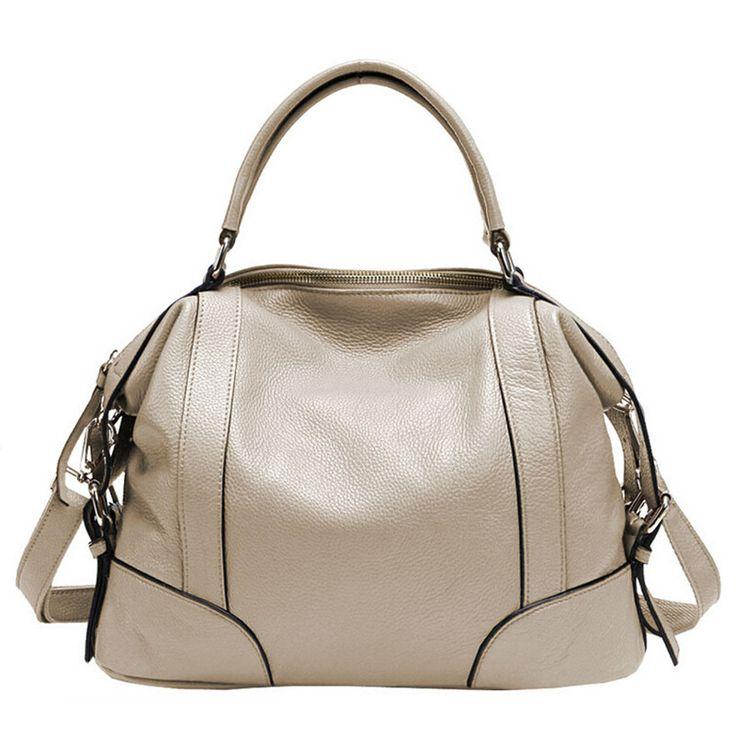 Aliexpress 2017 Hot Real Leather Bags Women High Quality Designer Handbag