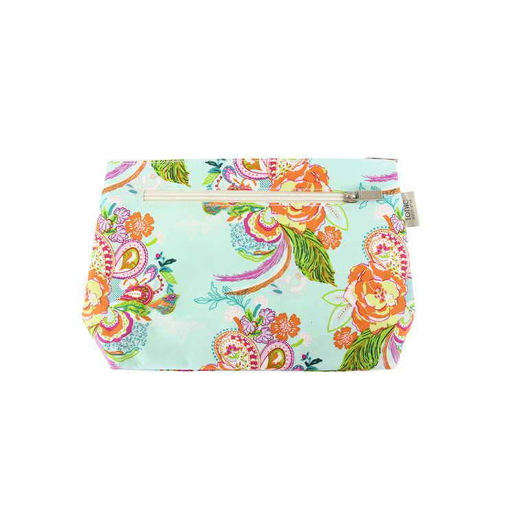 Floral Waltz Small Cosmetic Bag