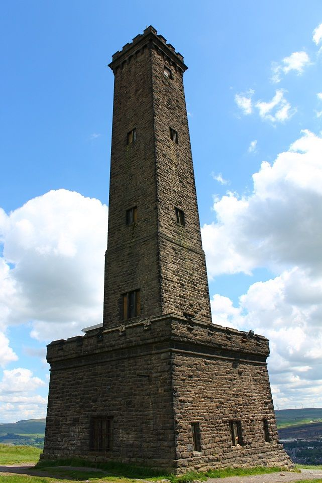 Peel Tower- Holcombe Hill, Ramsbottom is a town in the Metropolitan Borough of Bury, Greater Manchester, England