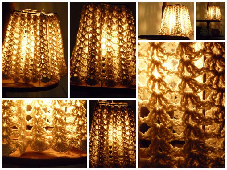 40 best lamparas tejidas al crochet images on Pinterest Crochet