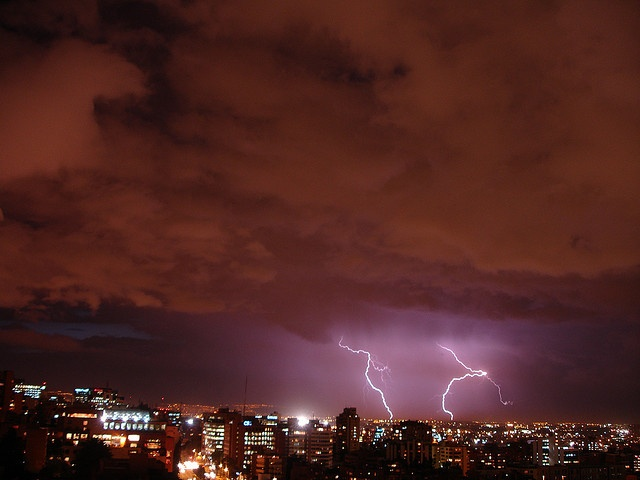 Bogota, just hoping to be home when this happens