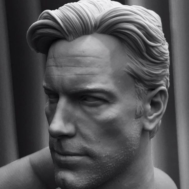 Ben Affleck 3D Printed, vimal kerketta on ArtStation at…