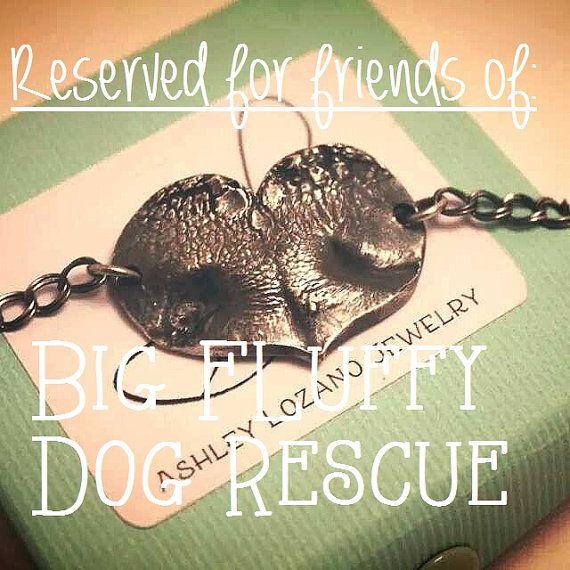 Reserved for friends of Big Fluffy Dog by AshleyLozanoJewelry, $140.00