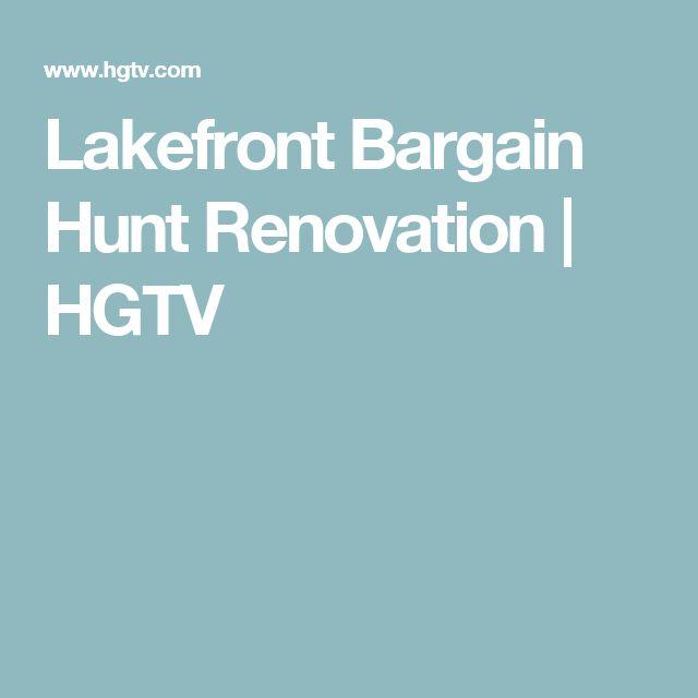 Lakefront Bargain Hunt Renovation | HGTV