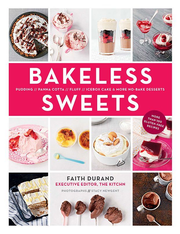 Perfect cookbook for summer: Bakeless Sweets by Faith Durand of The Kitchn. No ovens!