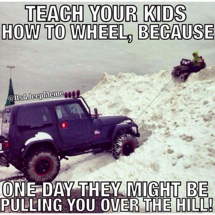 Jeep Parent Humor pic.twitter.com/HBctAeOJ0k #jeepedin