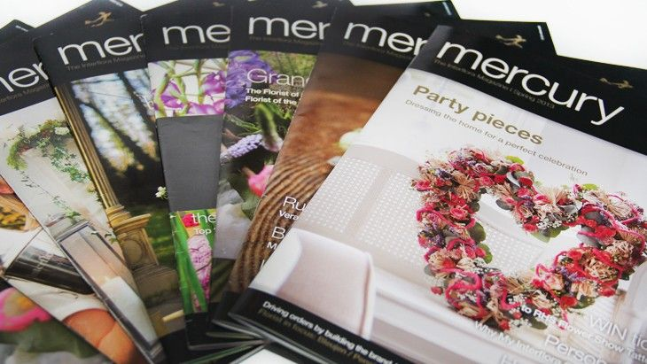 Mercury Magazine - Interflora