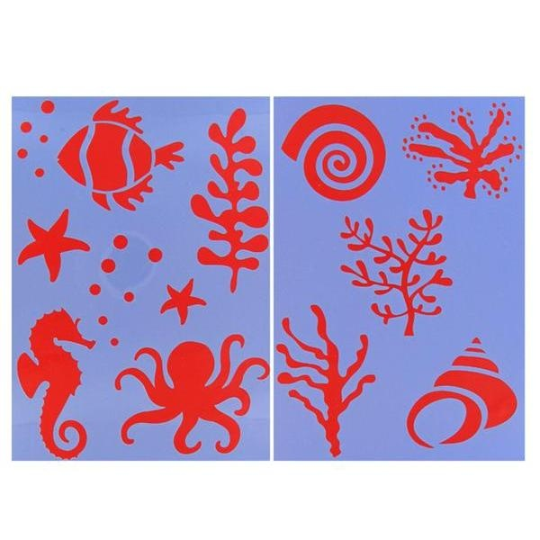 Wall Stencil Patterns Hobby Lobby : Best underwater window ideas images on