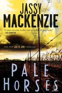 Pale Horses by Jassy Mackenzie (the 4th Jade de Jong thriller).  A real page turner set in both Johannesburg and the Karoo.