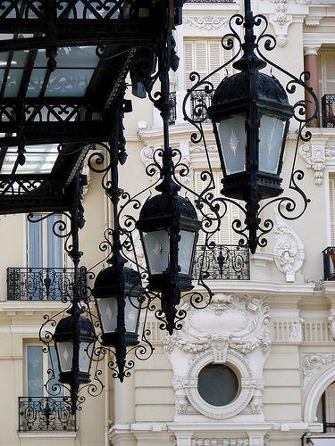 Monte Carlo Casino Lamps